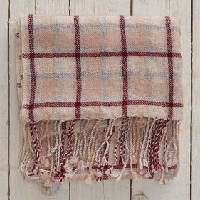 Cashmere Check Stole in the Ullswater design