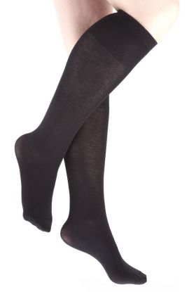 Ladies cashmere knee high socks