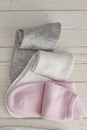 Cashmere house and bed socks