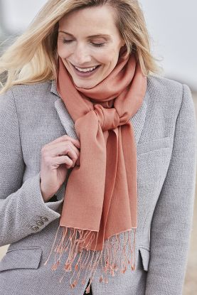 Classic Cashmere Pashmina Stole in Pink