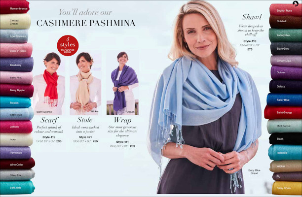 30 Colours of Pashmina