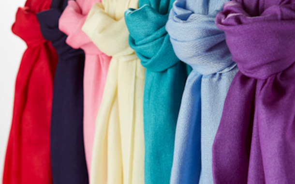 View our cashmere pashmina collection