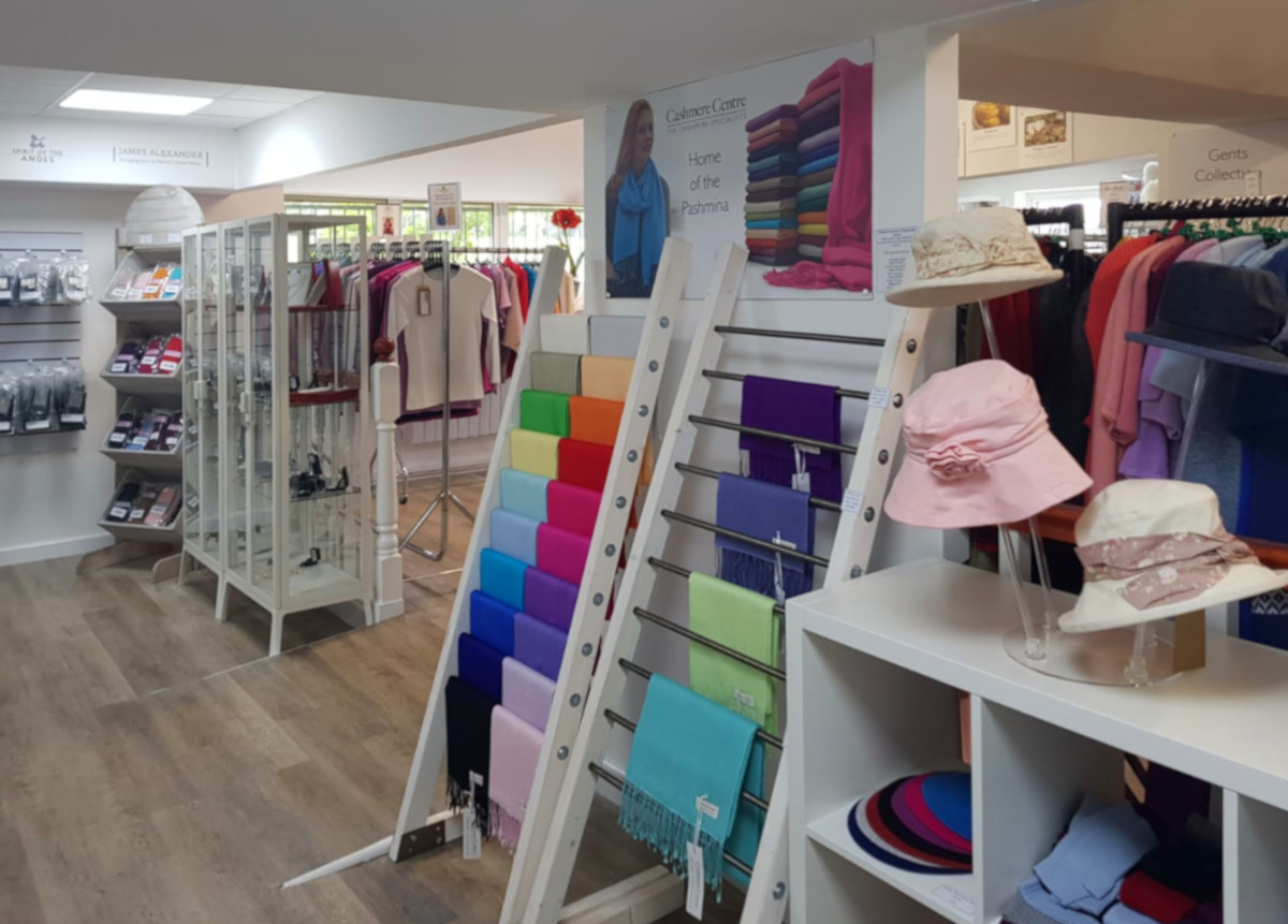 Cashmere Centre Retail Shop 'House of Buckingham' near Milton Keynes